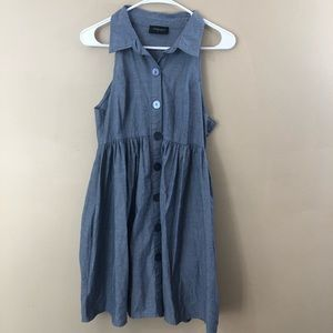 Alyn Paige New York Button Down Chambray Dress